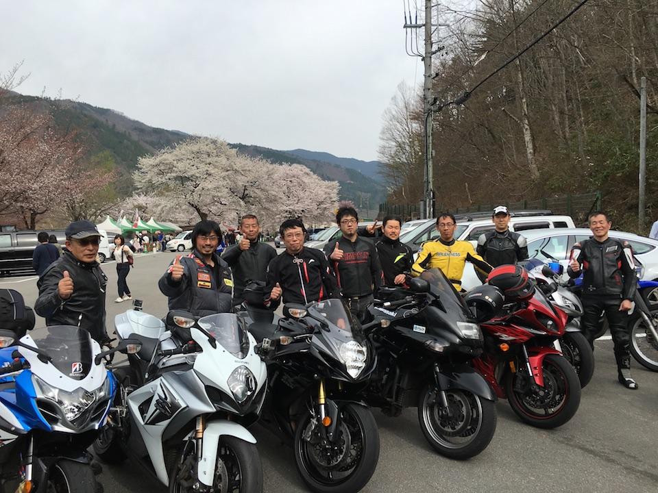 荘川桜ツーリング